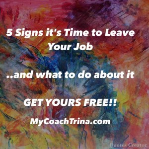 5 signs to leave your job